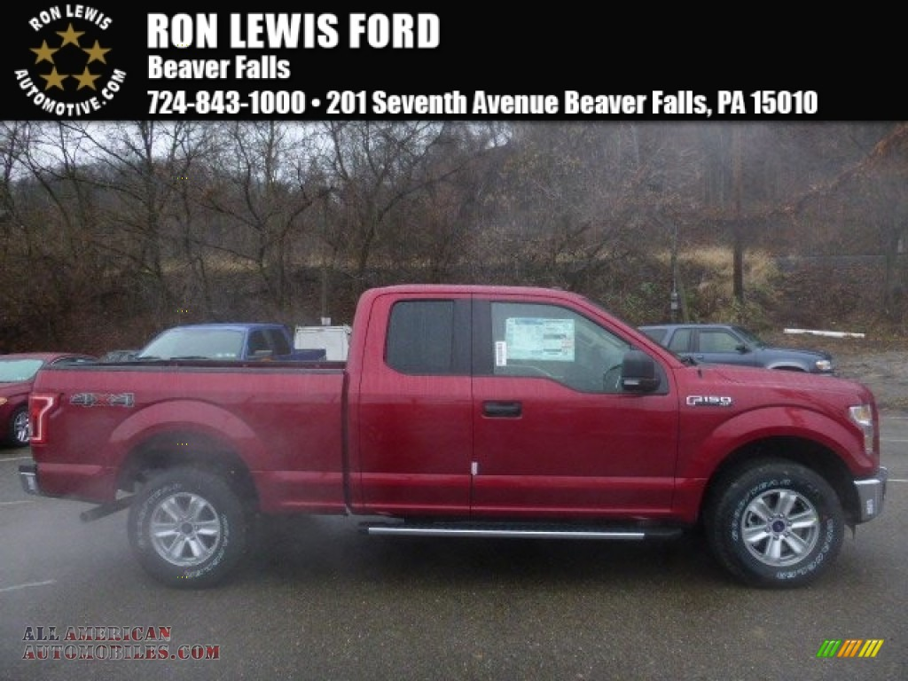ford f xlt supercab x in ruby red a all ruby red medium light camel ford f150 xlt supercab 4x4