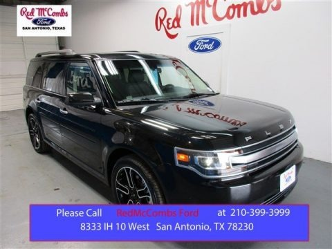 Tuxedo Black Metallic 2015 Ford Flex Limited