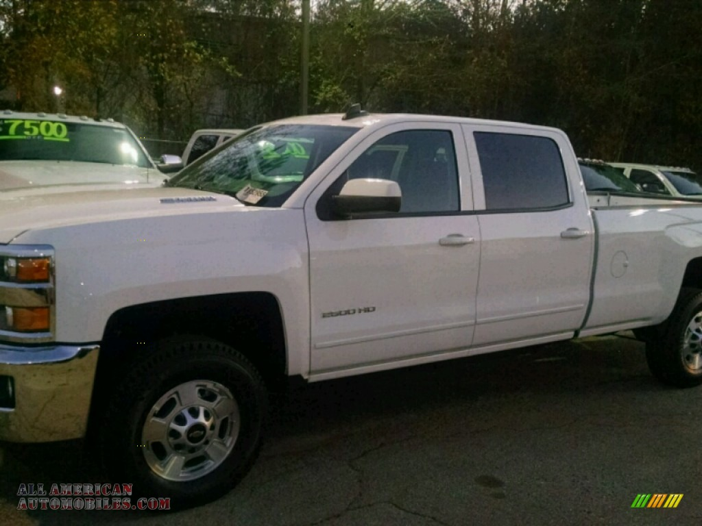 2015 chevrolet silverado 2500hd lt crew cab 4x4 in summit white 612895 all american. Black Bedroom Furniture Sets. Home Design Ideas