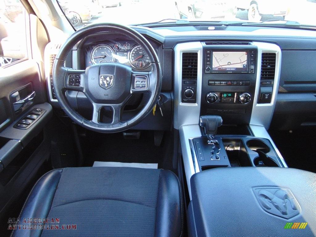 2012 Dodge Ram 1500 Sport Quad Cab 4x4 In True Blue Pearl Photo 19 Dark Slate Gray