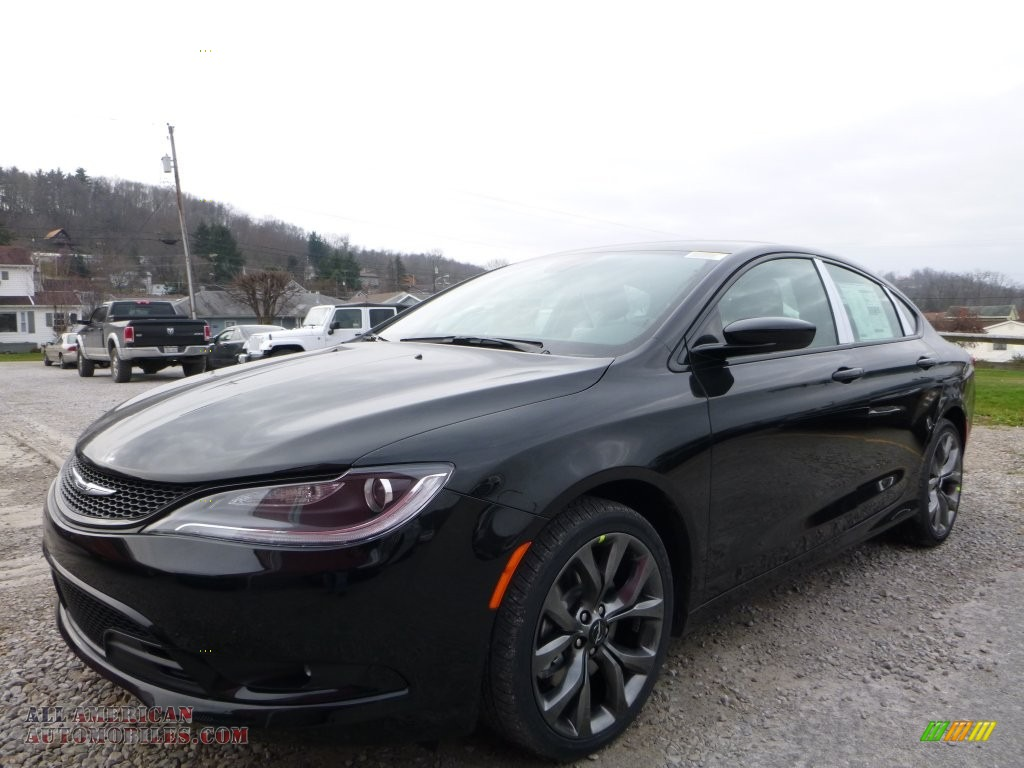 2016 chrysler 200 s awd in black 158435 all american automobiles buy american cars for. Black Bedroom Furniture Sets. Home Design Ideas
