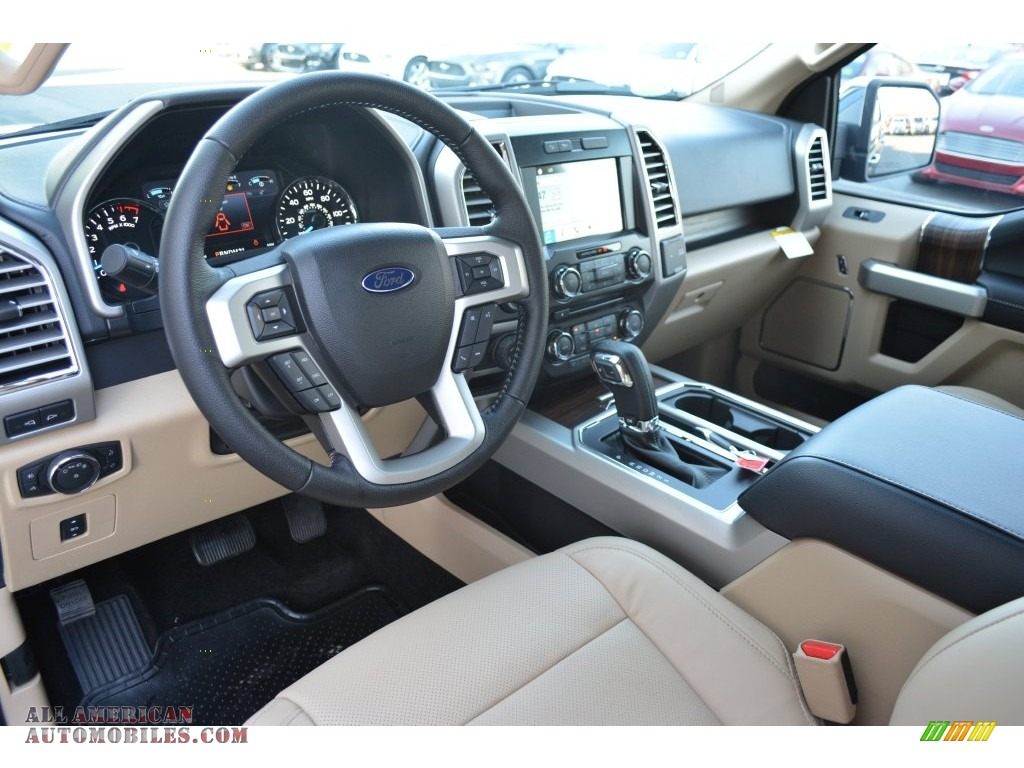 2016 Ford F150 Lariat Supercrew 4x4 In Blue Jeans Photo