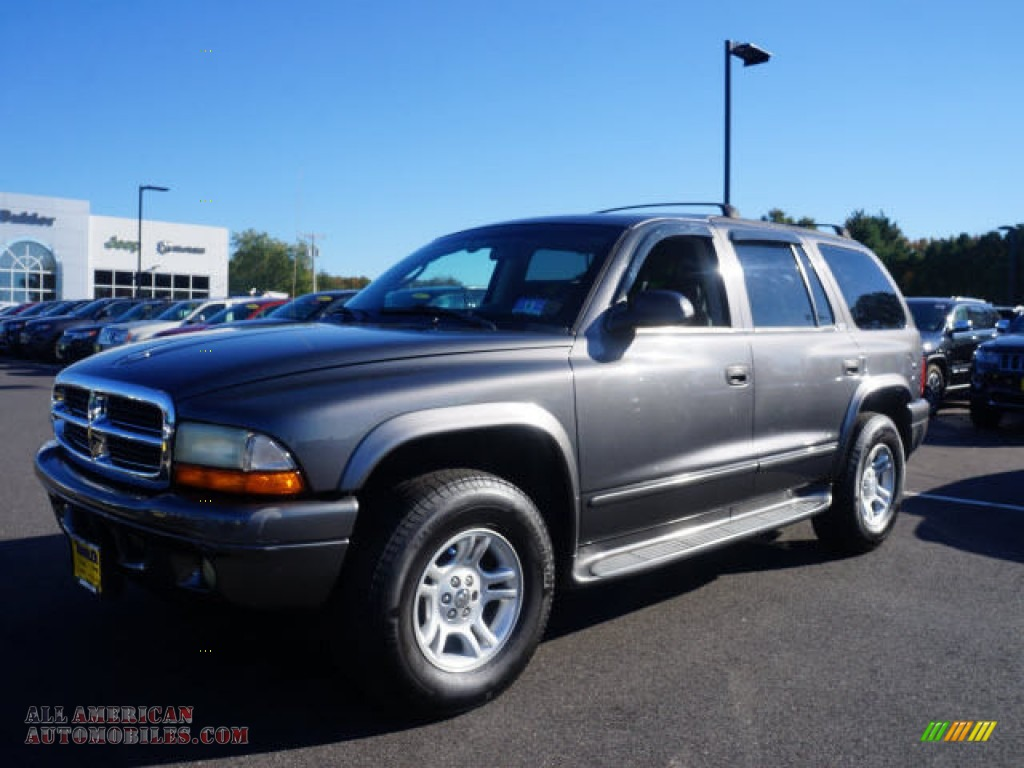 2002 dodge durango slt 4x4 in graphite metallic 199383 for Steve white motors inc