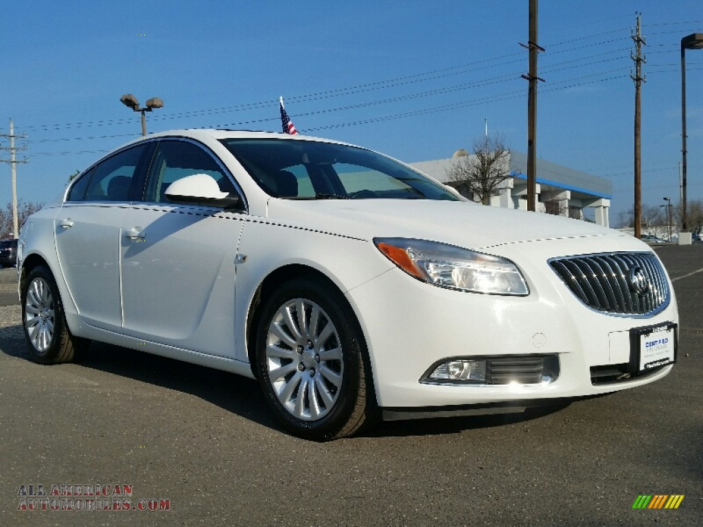 2011 buick regal cxl turbo in summit white 142227 all american automobiles buy american. Black Bedroom Furniture Sets. Home Design Ideas