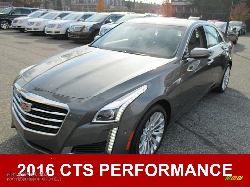 2016 cadillac cts 3 6 performace sedan in moonstone metallic 118585 all american automobiles. Black Bedroom Furniture Sets. Home Design Ideas