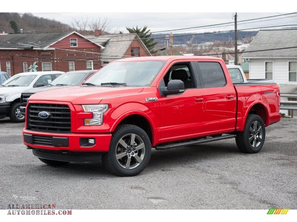 2016 ford f150 xlt supercrew 4x4 in race red a61475 all american automobiles buy american. Black Bedroom Furniture Sets. Home Design Ideas