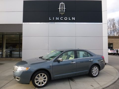 Steel Blue Metallic 2012 Lincoln MKZ FWD