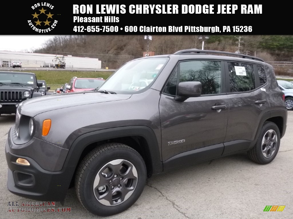 Ron Lewis Cranberry >> 2016 Jeep Renegade Latitude in Granite Crystal Metallic - C53850   All American Automobiles ...