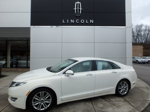 Crystal Champagne 2013 Lincoln MKZ 2.0L EcoBoost AWD