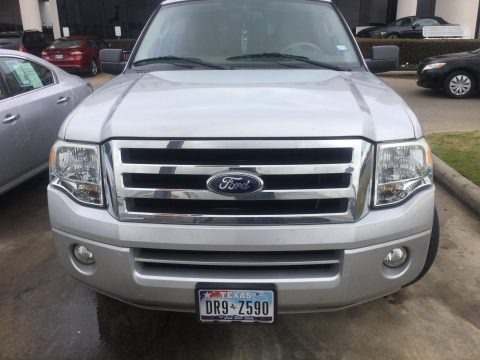 Ingot Silver Metallic 2010 Ford Expedition XLT