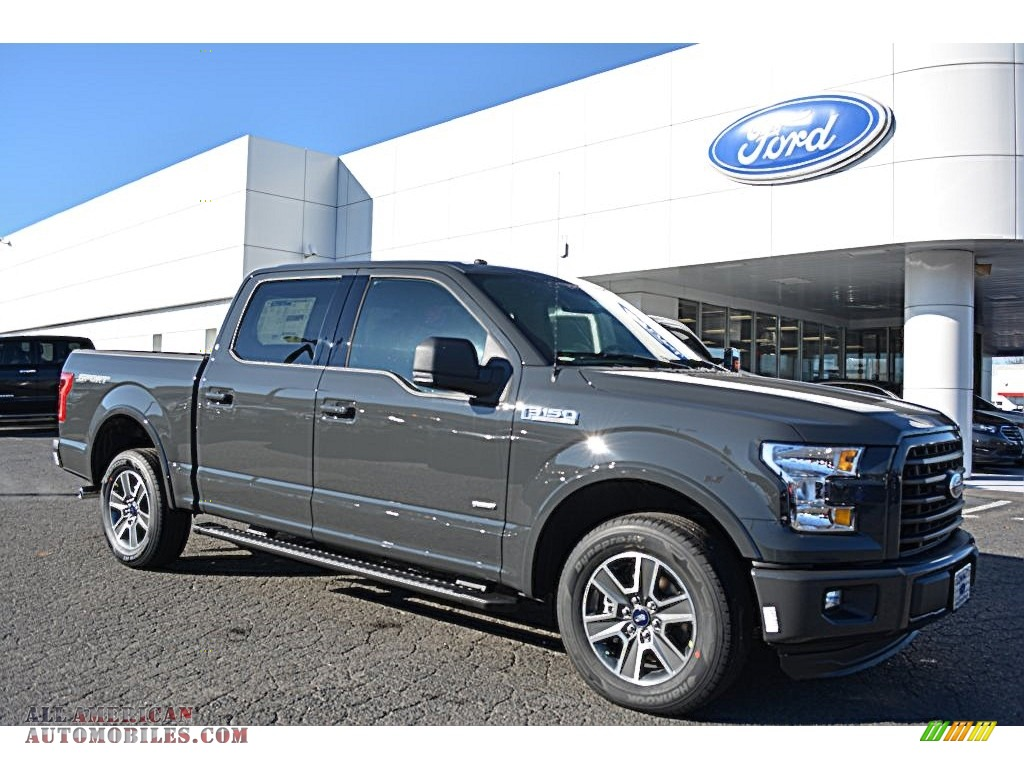 Ford 302A Package >> 2016 Ford F150 XLT SuperCrew in Lithium Gray - A67527 | All American Automobiles - Buy American ...