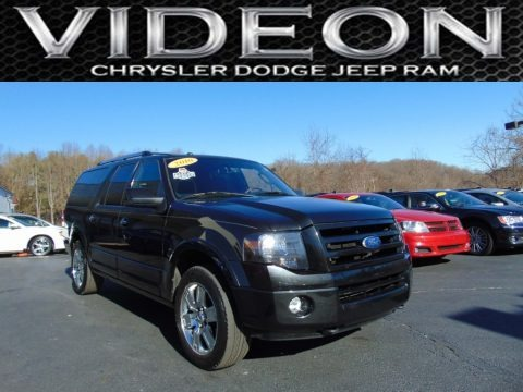 Tuxedo Black 2010 Ford Expedition EL Limited 4x4