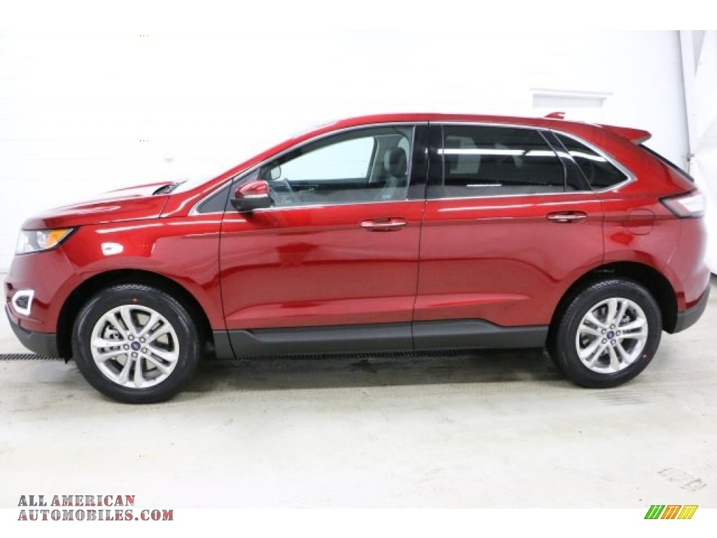 2016 ford edge titanium awd in ruby red b03861 all american automobiles buy american cars. Black Bedroom Furniture Sets. Home Design Ideas