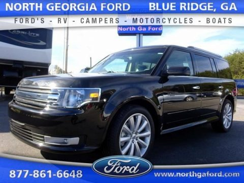 Tuxedo Black Metallic 2015 Ford Flex SEL AWD