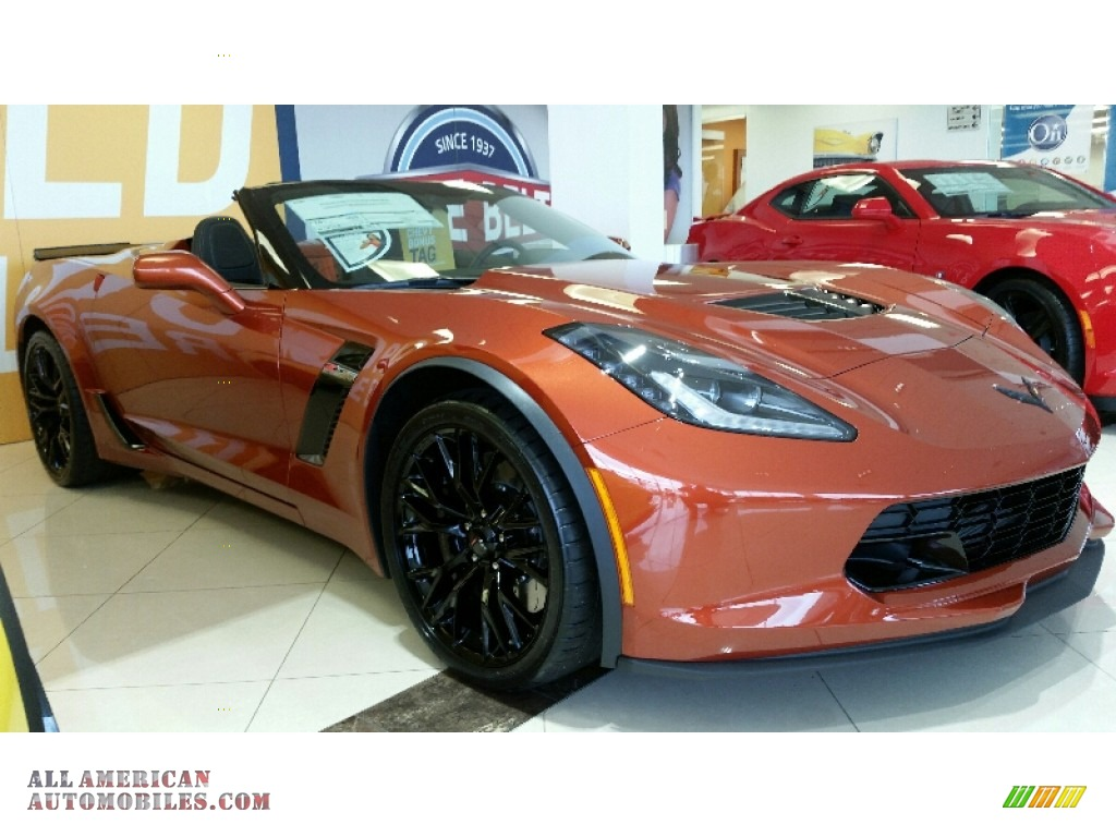 2016 chevrolet corvette z06 convertible in daytona sunrise orange metallic 606415 all. Black Bedroom Furniture Sets. Home Design Ideas