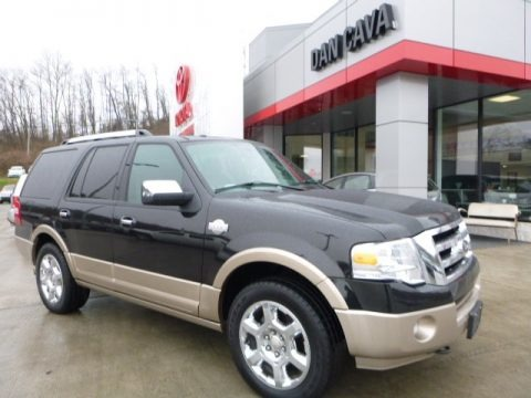 Tuxedo Black 2013 Ford Expedition King Ranch 4x4