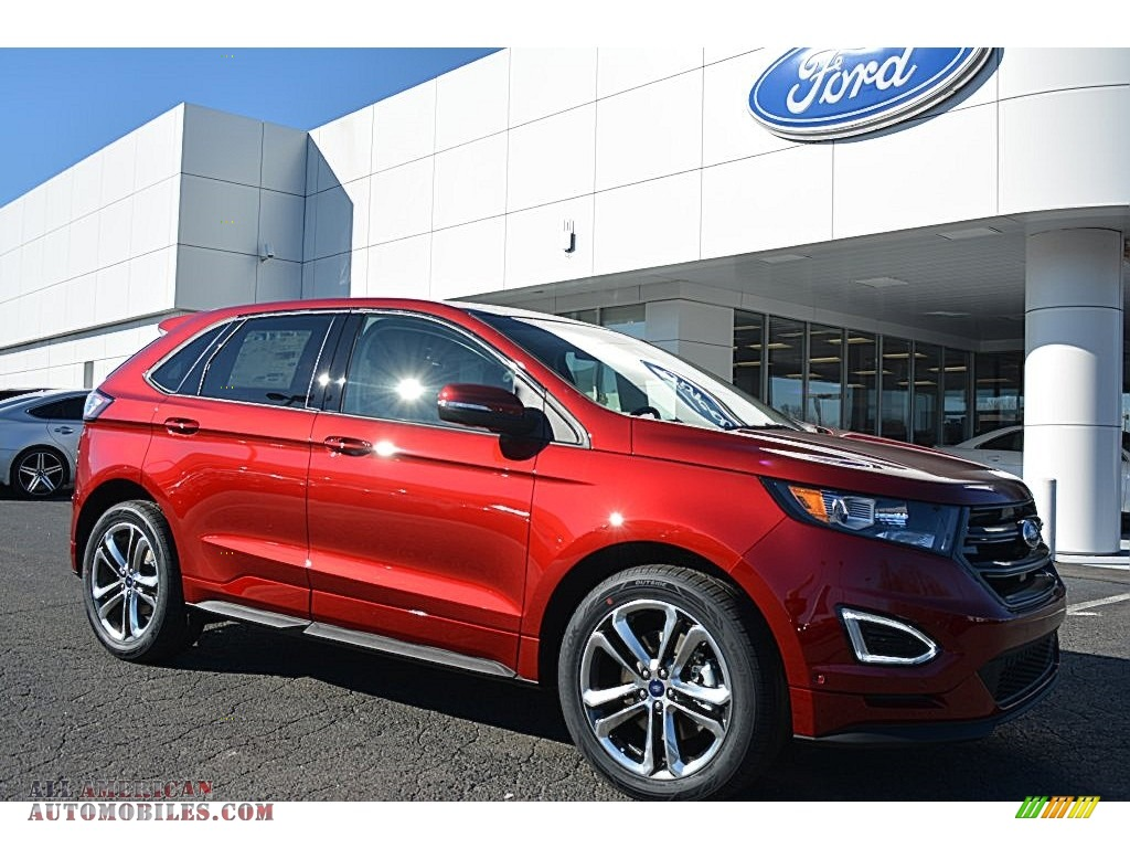 2016 ford edge sport awd in ruby red b02566 all american automobiles buy american cars for. Black Bedroom Furniture Sets. Home Design Ideas