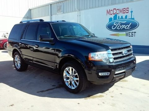 Tuxedo Black Metallic 2015 Ford Expedition Limited