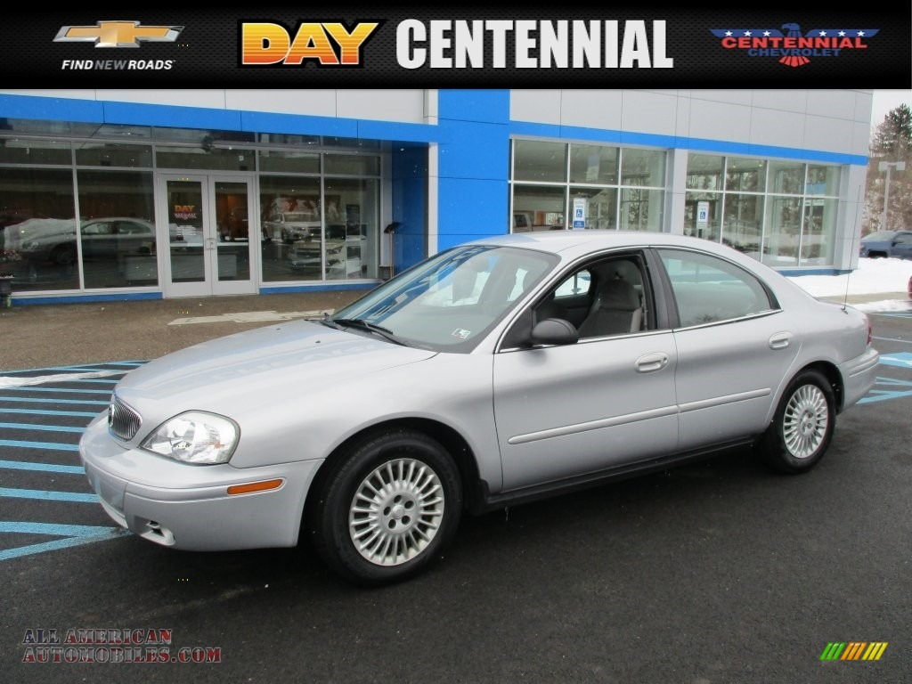 Silver Frost Metallic / Medium Graphite Mercury Sable GS Sedan