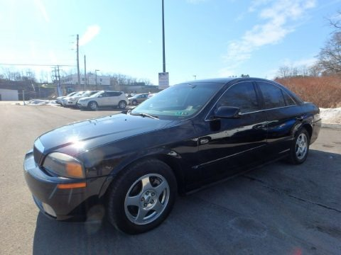 Black 2001 Lincoln LS V8