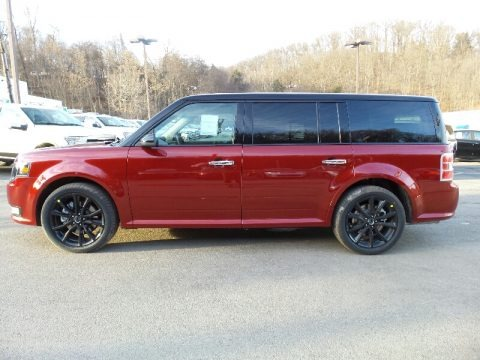 Ruby Red 2016 Ford Flex SEL AWD