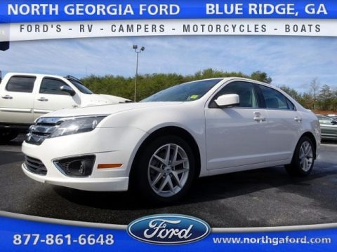 White Suede 2011 Ford Fusion SEL