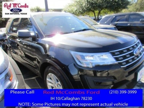 Shadow Black 2016 Ford Explorer FWD