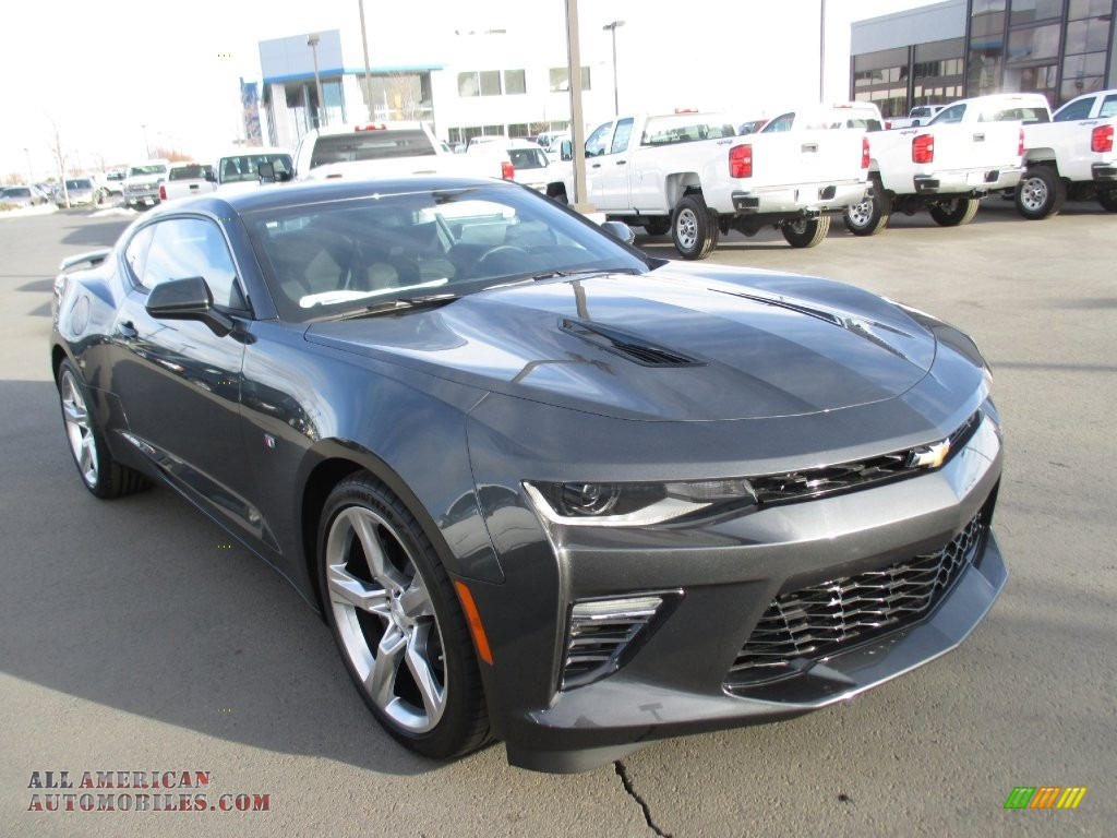 2016 chevrolet camaro ss coupe in nightfall gray metallic