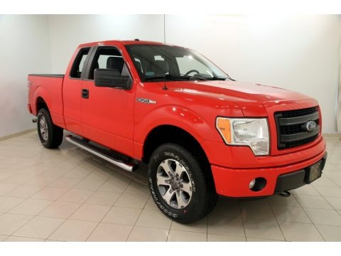 Race Red 2013 Ford F150 STX SuperCab 4x4
