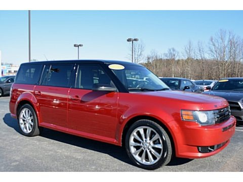 Red Candy Metallic 2012 Ford Flex Limited