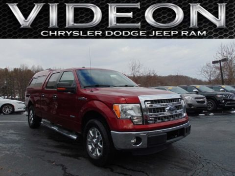 Ruby Red Metallic 2013 Ford F150 XLT SuperCrew