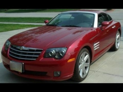 Blaze Red Crystal Pearl 2004 Chrysler Crossfire Limited Coupe
