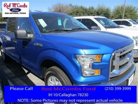 Blue Flame 2016 Ford F150 XLT SuperCrew