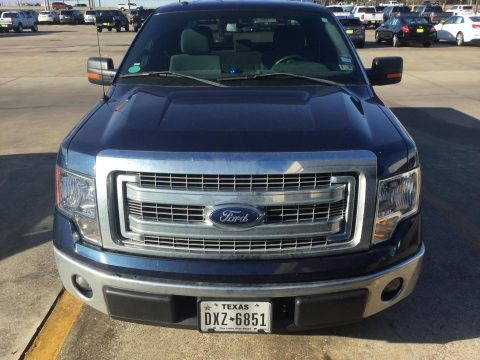 Blue Jeans 2014 Ford F150 XLT SuperCab
