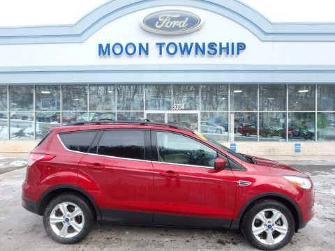 Ruby Red Metallic 2013 Ford Escape SE 2.0L EcoBoost 4WD