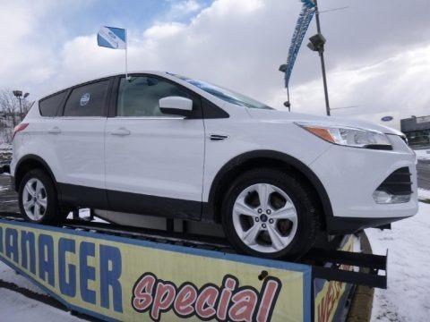 Oxford White 2014 Ford Escape SE 1.6L EcoBoost
