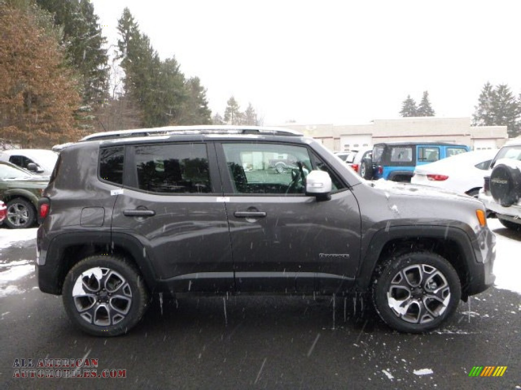 2016 Jeep Renegade Limited 4x4 In Granite Crystal Metallic