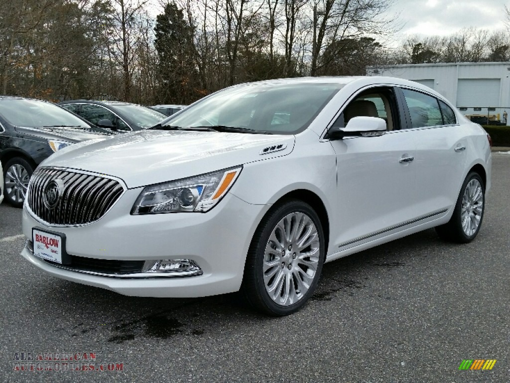2016 Buick LaCrosse Premium II Group in White Frost ...