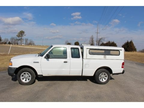 Oxford White 2010 Ford Ranger XL SuperCab