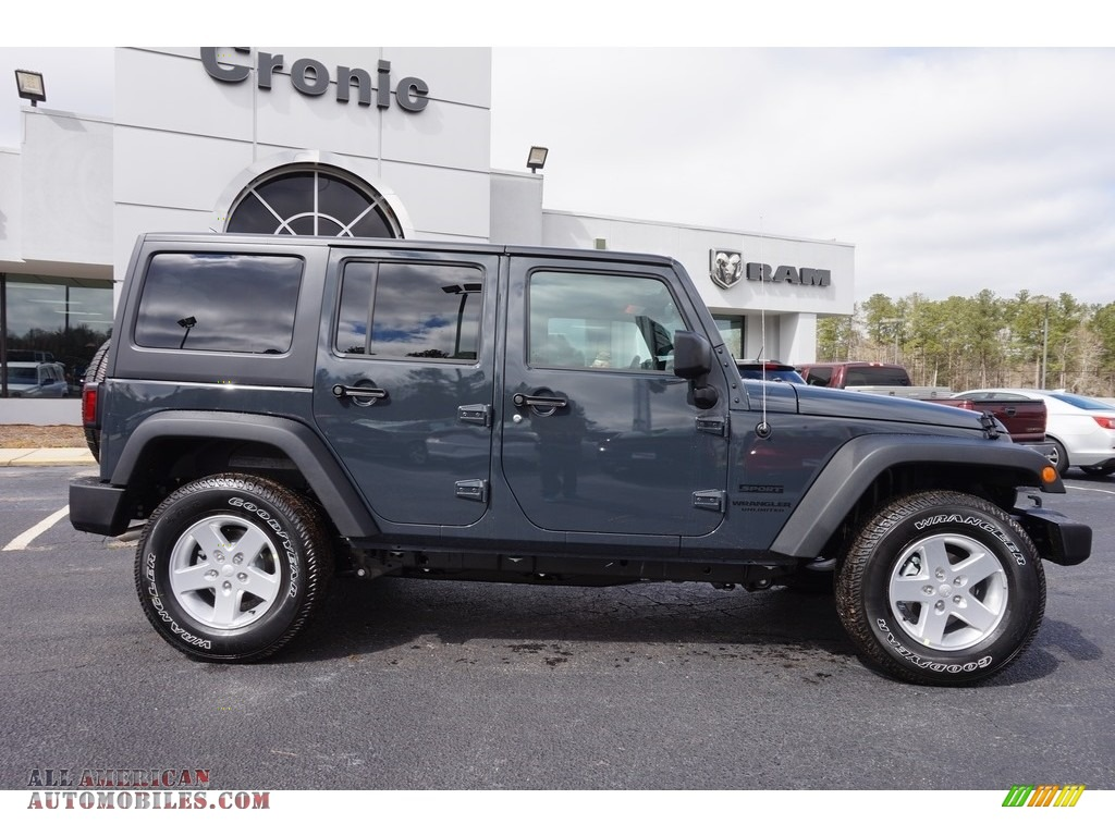 Ron Lewis Jeep >> 2016 Jeep Wrangler Unlimited Sport 4x4 in Rhino photo #8 - 194794 | All American Automobiles ...