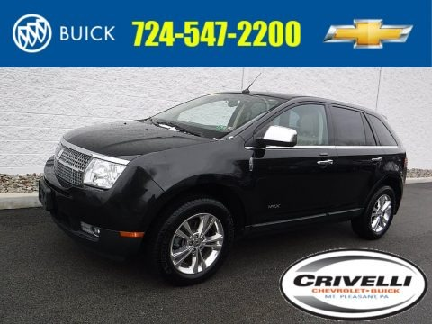 Tuxedo Black Metallic 2010 Lincoln MKX AWD