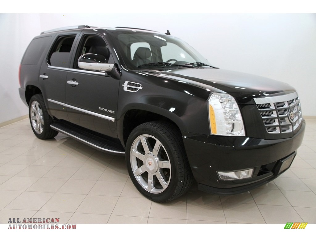 2012 cadillac escalade luxury awd in black raven 258278. Black Bedroom Furniture Sets. Home Design Ideas