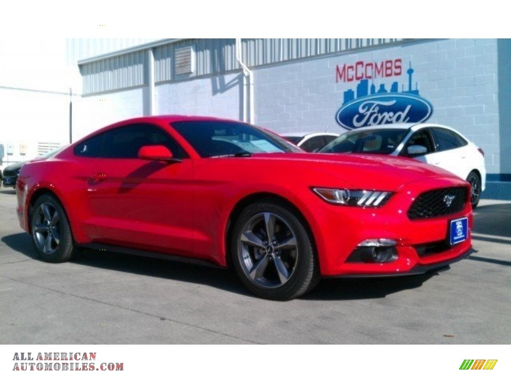 2016 Ford Mustang V6 Coupe in Race Red - 278561   All ...
