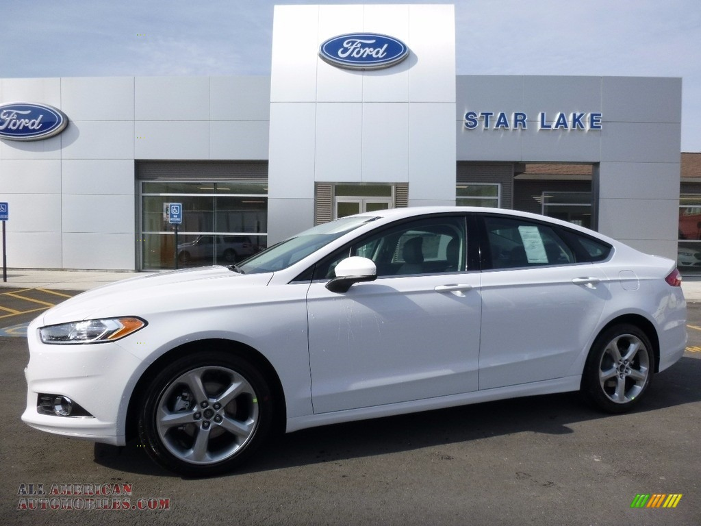 2016 ford fusion s in oxford white 352949 all american automobiles buy american cars for. Black Bedroom Furniture Sets. Home Design Ideas