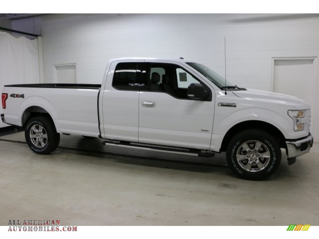 2016 ford f150 xlt supercab 4x4 in oxford white d62537 all american automobiles buy. Black Bedroom Furniture Sets. Home Design Ideas