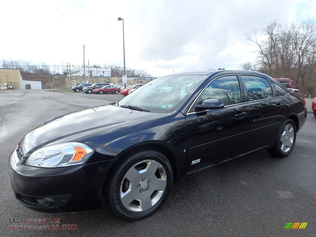 2007 chevrolet impala ss in black 351433 all american automobiles buy american cars for. Black Bedroom Furniture Sets. Home Design Ideas