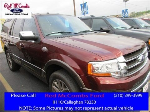 Bronze Fire Metallic 2016 Ford Expedition King Ranch