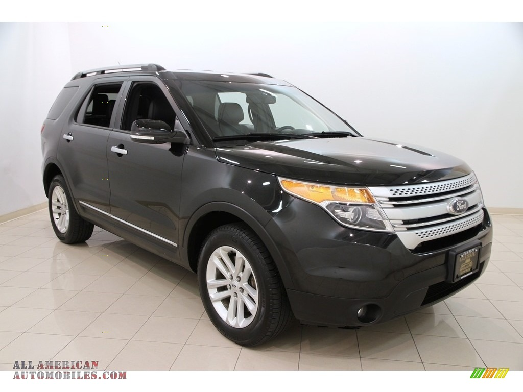 2014 ford explorer xlt 4wd in tuxedo black c33871 all american automobiles buy american. Black Bedroom Furniture Sets. Home Design Ideas