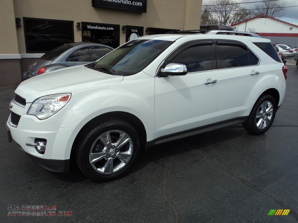 2011 chevrolet equinox ltz awd in summit white 208520 all american automobiles buy. Black Bedroom Furniture Sets. Home Design Ideas