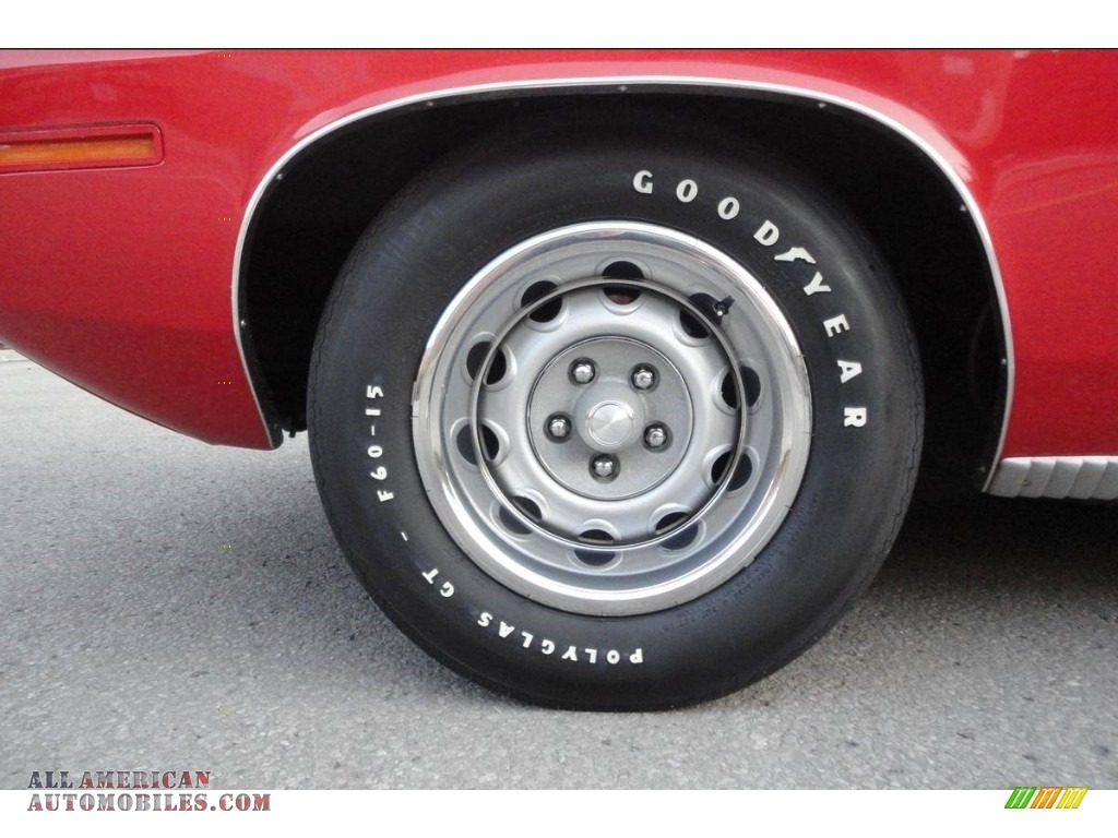 1970 Cuda Hemi - Rallye Red / Black photo #19